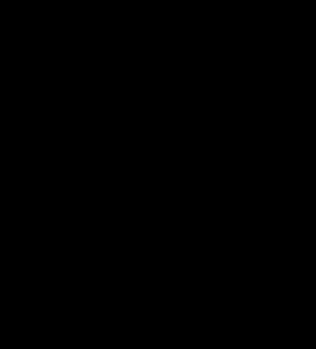 black fork and knife inside of a black box